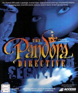 Tex Murphy: The Pandora Directive cover