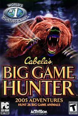 Cabela's Big Game Hunter 2005 Adventures cover