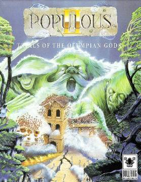 Populous II: Trials of the Olympian Gods cover