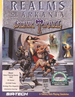 Realms of Arkania: Star Trail cover