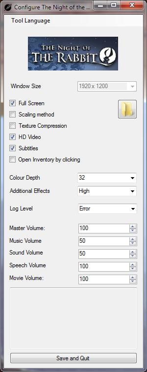 Configuration tool
