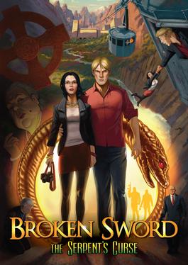 Broken Sword 5 - The Serpent's Curse cover