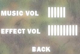 Audio settings.