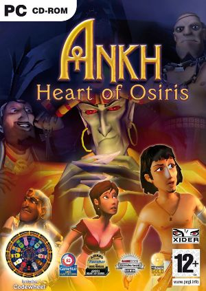 Ankh: Heart of Osiris cover