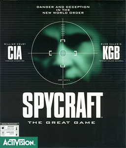 Spycraft: The Great Game cover
