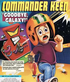 Commander Keen in Secret of the Oracle cover