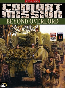 Combat Mission: Beyond Overlord cover