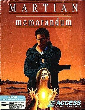 Tex Murphy: Martian Memorandum cover
