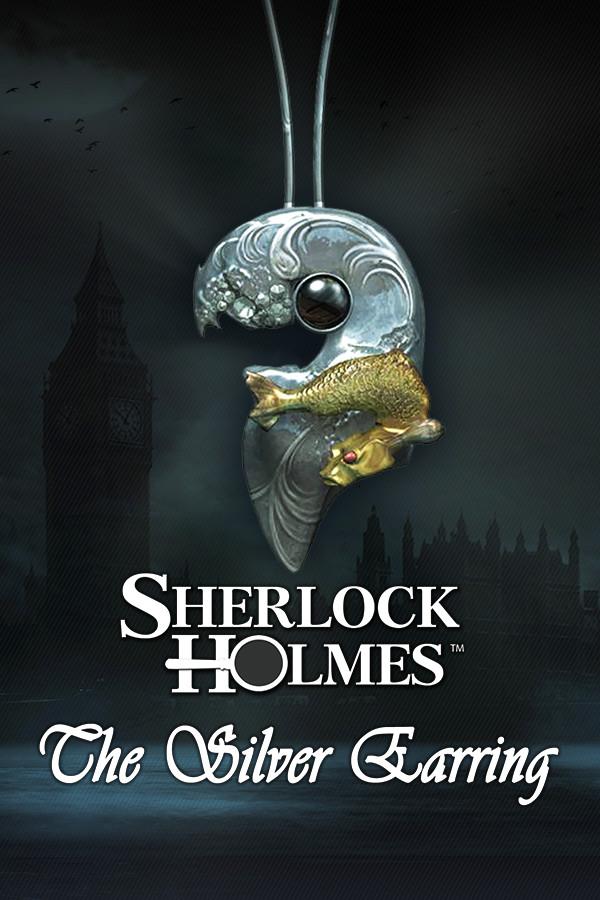 Sherlock Holmes: Secret of the Silver Earring cover