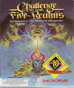 Challenge of the Five Realms cover