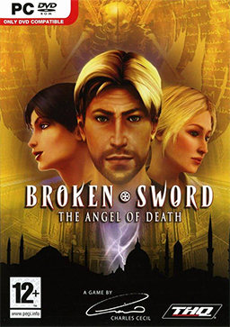 Broken Sword 4: The Angel of Death (Secrets of the Ark) cover