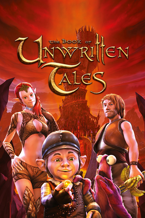 The Book of Unwritten Tales cover