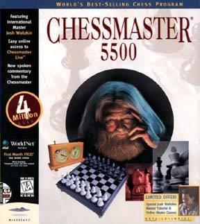 Chessmaster 5500 cover