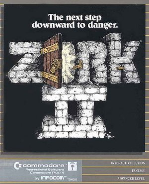 Zork II: The Wizard of Frobozz cover