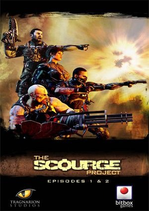 The Scourge Project: Episode 1 and 2 cover