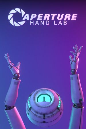 Aperture Hand Lab cover
