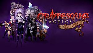 Grotesque Tactics: Evil Heroes cover