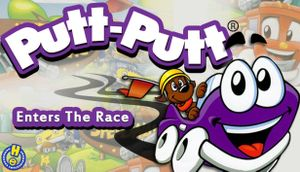 Putt-Putt Enters the Race cover