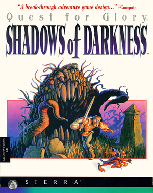Quest for Glory: Shadows of Darkness cover