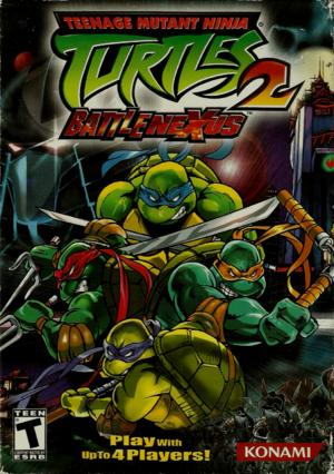 Teenage Mutant Ninja Turtles 2: Battle Nexus cover
