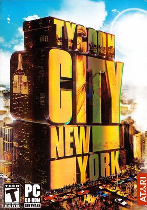 Tycoon City: New York cover