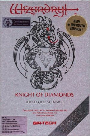 Wizardry: Knight of Diamonds - The Second Scenario cover