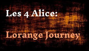Les 4 Alice: Lorange Journey cover