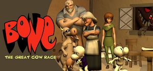 Bone: The Great Cow Race cover