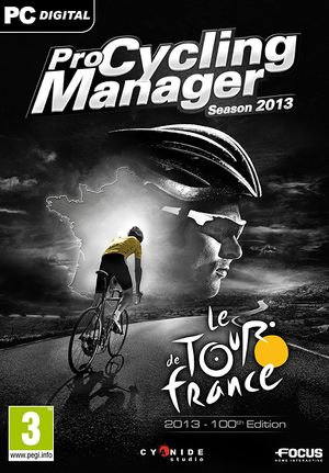 Pro Cycling Manager 2013 cover