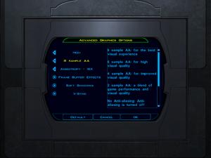 Advanced Graphics Options.