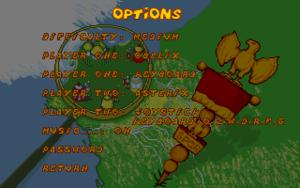 Settings (DOS version).