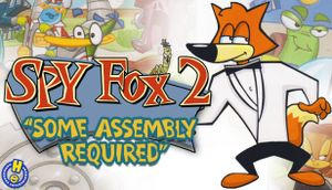 Spy Fox 2: Some Assembly Required cover