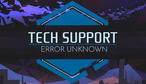 Tech Support: Error Unknown cover