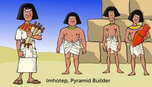 Imhotep, Pyramid Builder cover