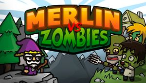Merlin vs Zombies cover