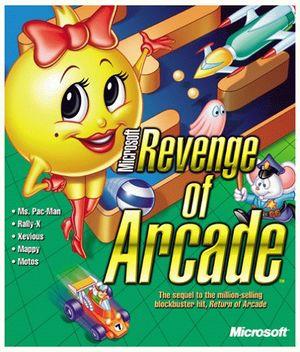 Microsoft Revenge of Arcade cover