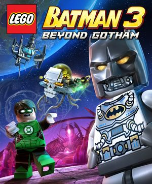 Lego Batman 3: Beyond Gotham cover