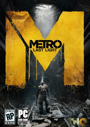 Metro: Last Light - PCGamingWiki PCGW - bugs, fixes, crashes