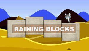 Raining Blocks cover