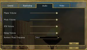 Titan Quest settings.