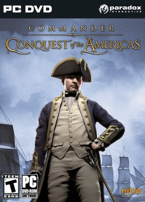 Commander: Conquest of the Americas cover