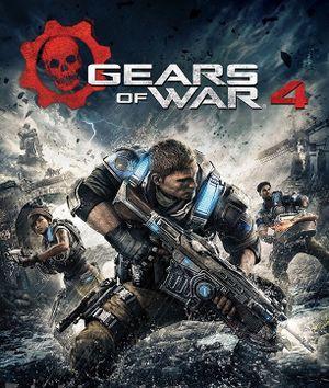 Gears of War 4 cover