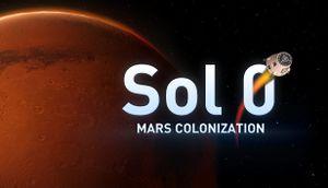 Sol 0: Mars Colonization cover