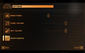 In-game settings.