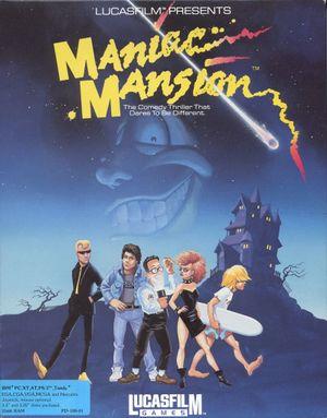 Maniac Mansion cover