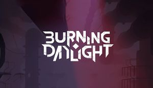 Burning Daylight cover