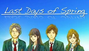 Last Days of Spring cover