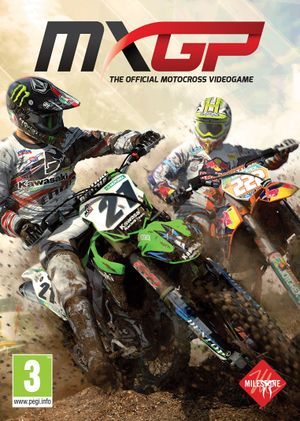MXGP - The Official Motocross Videogame cover