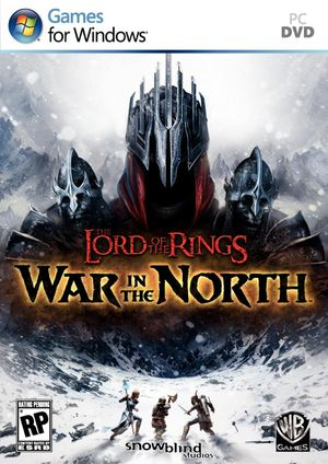 The Lord of the Rings: War in the North cover