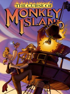 The Curse of Monkey Island cover
